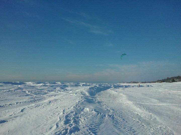 Snowkiting Last Year
