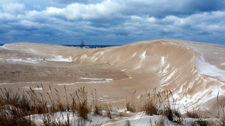 Silver Lake Sand Dunes and Lake Michigan
