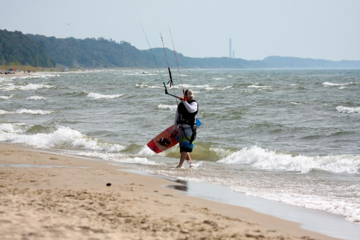 South wind in Grand Haven from a couple years ago