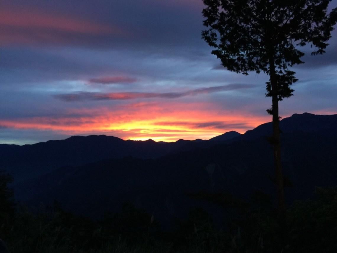 Sunrise at Alishan