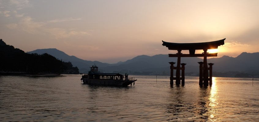 Three Scenic Views of Japan