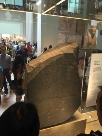 Rosetta Stone, Through the Mass of People