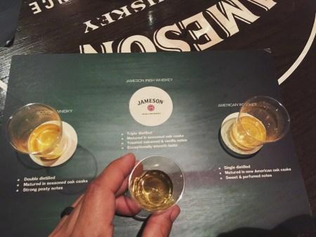 Jameson vs. Jack Daniels vs. Jim Beam