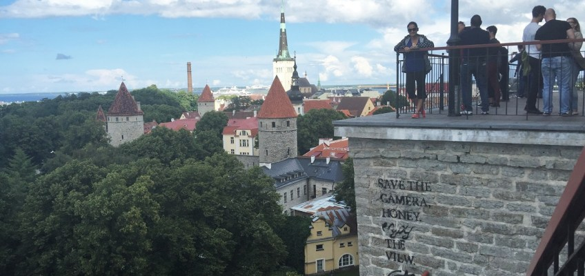 Tallinn, Enjoy the View and the Food