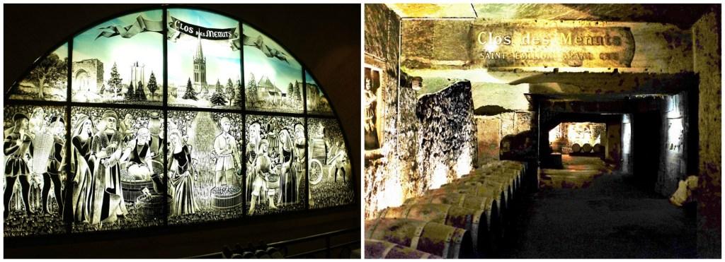 Cave cellars of St. Emilion