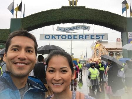 Entrance to Oktoberfest