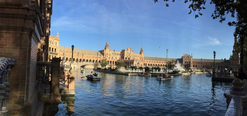 Reliving Sevilla, Back to College Days