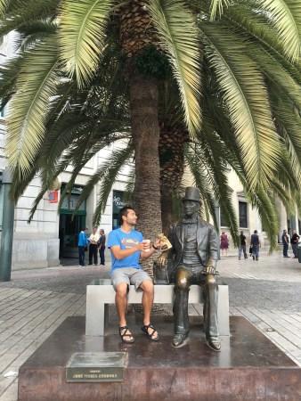 Malaga Pablo Picasso statue