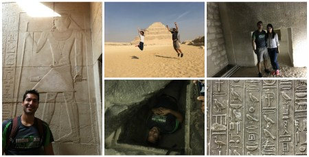 sights around Sakkara