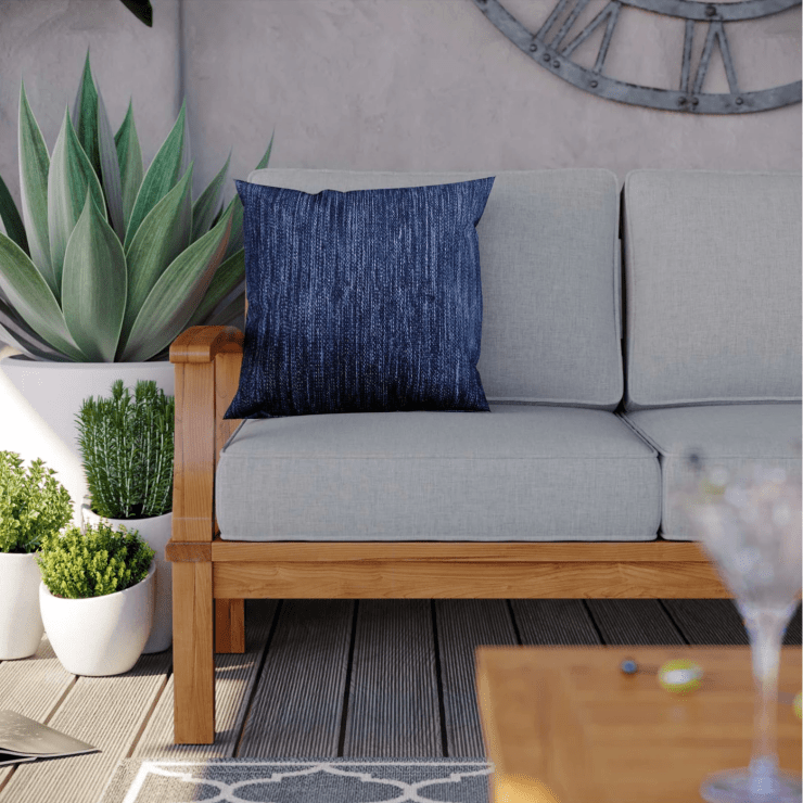 Mid century modern outdoor furniture, couch by LexMod