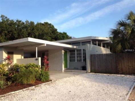 mid century modern home for sale in st. pete, fl