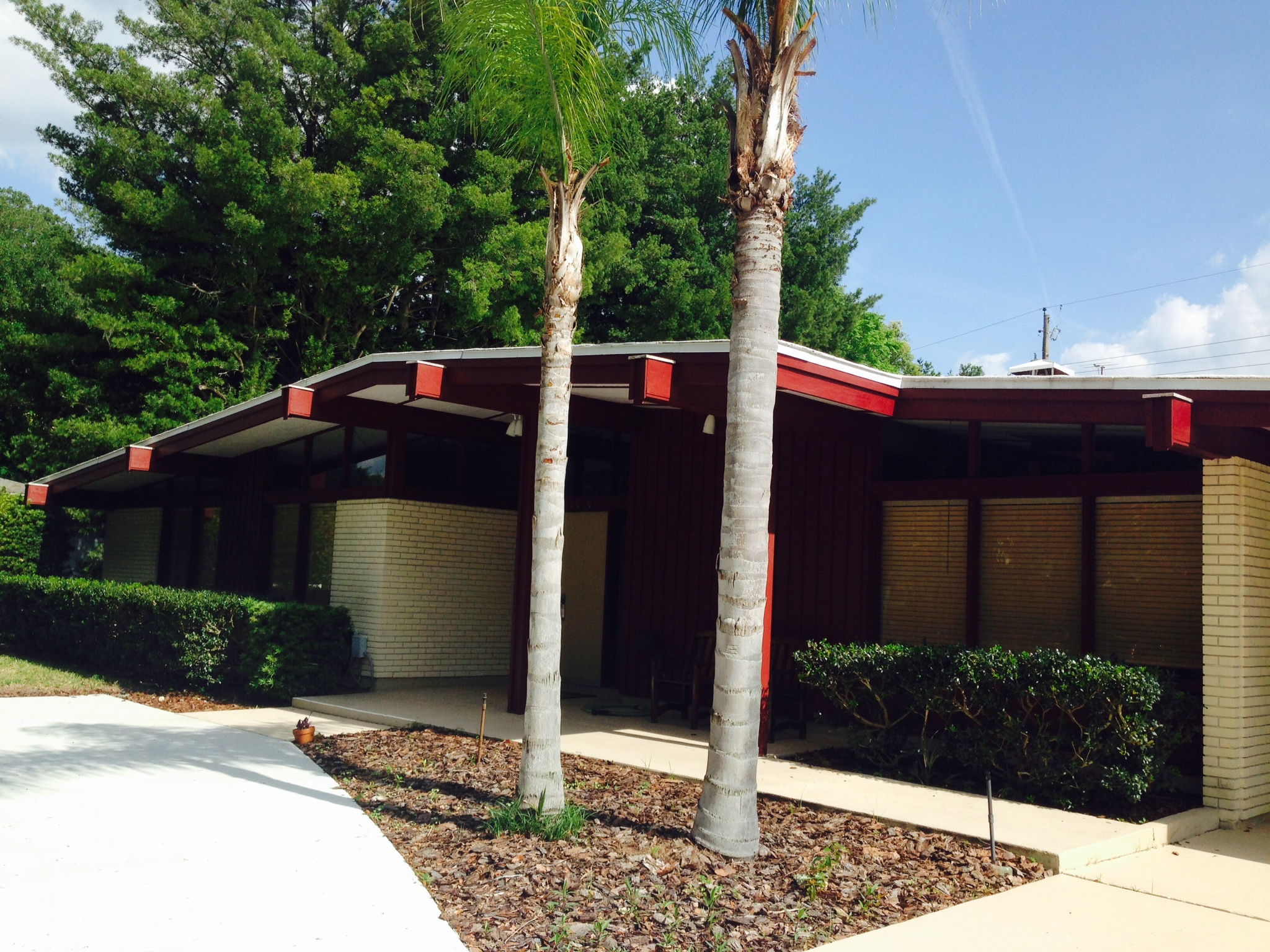 mid century modern homes tampa