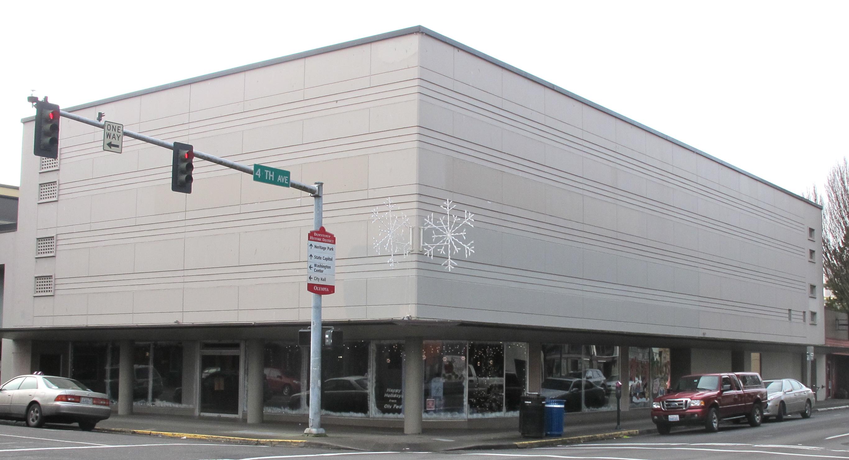 Goldbergs Furniture Store Olympia WA Mid Century Mundane
