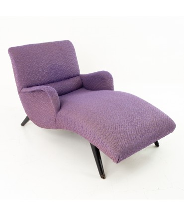 greta magnusson grossman for chaircraft mid century chaise lounge chair
