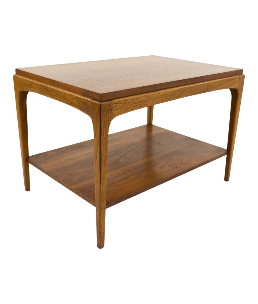 lane mid century side end table 29 inch