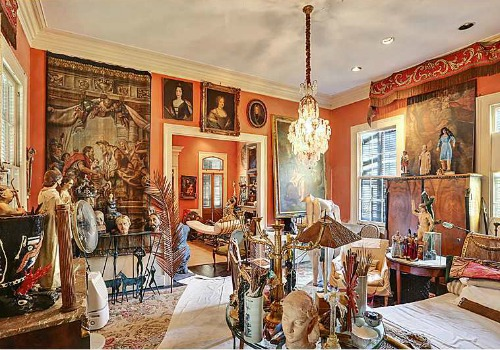 New Orleans Sculptors Bayou St John Home For Sale Mid