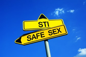 safe sex vs sti sign