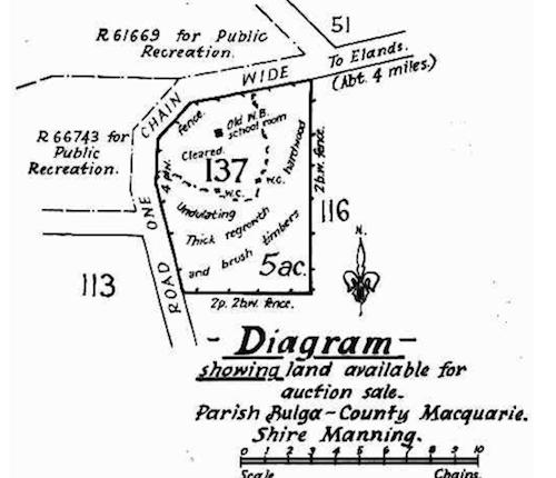 Site of Brinawa School – Government Gazette