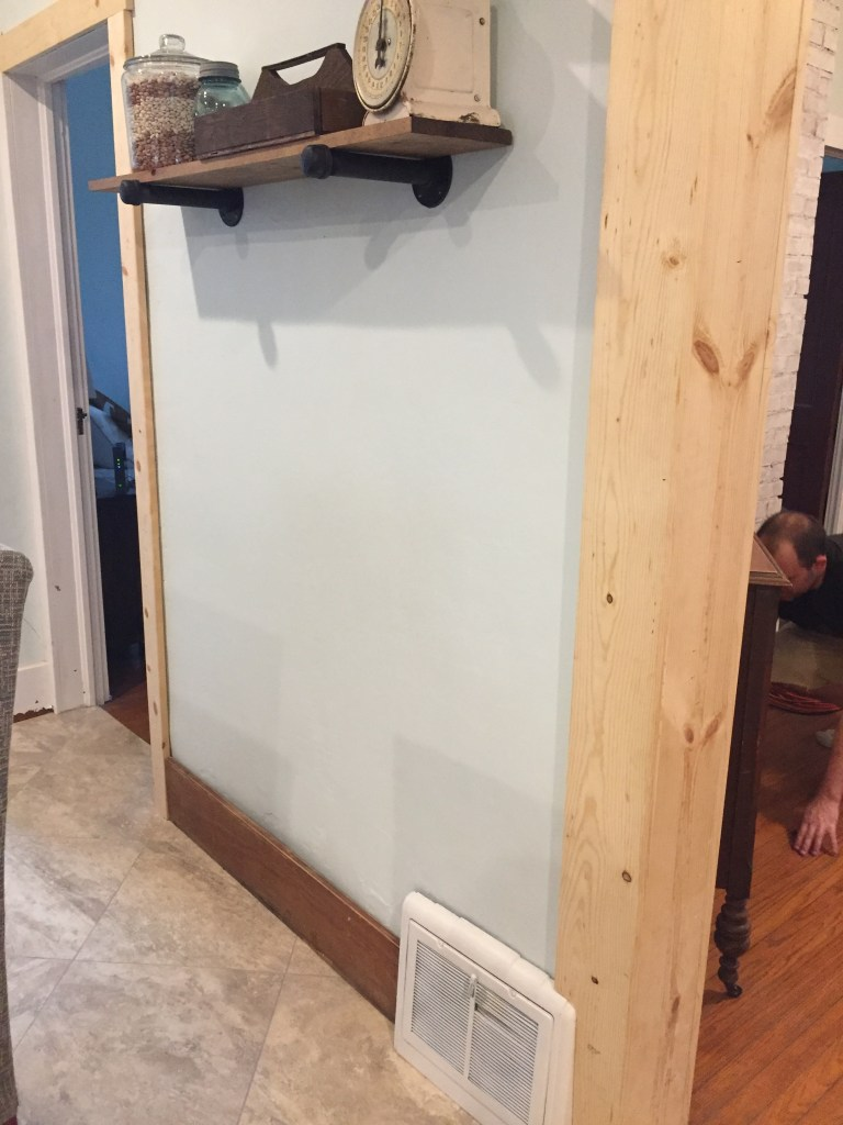 DIY Trimming Out a Doorway & Installing Baseboard Trim