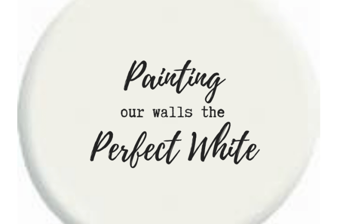 Painting Our Walls the Perfect White