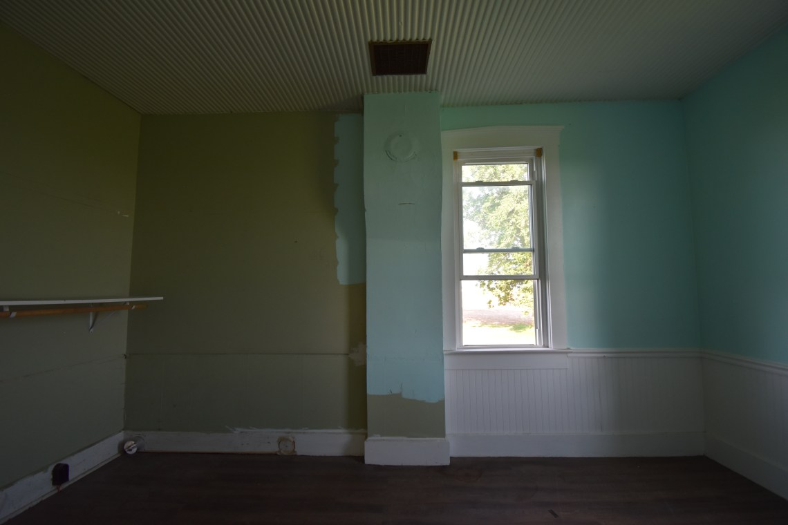 Farmhouse Before Tour downstairs bedroom