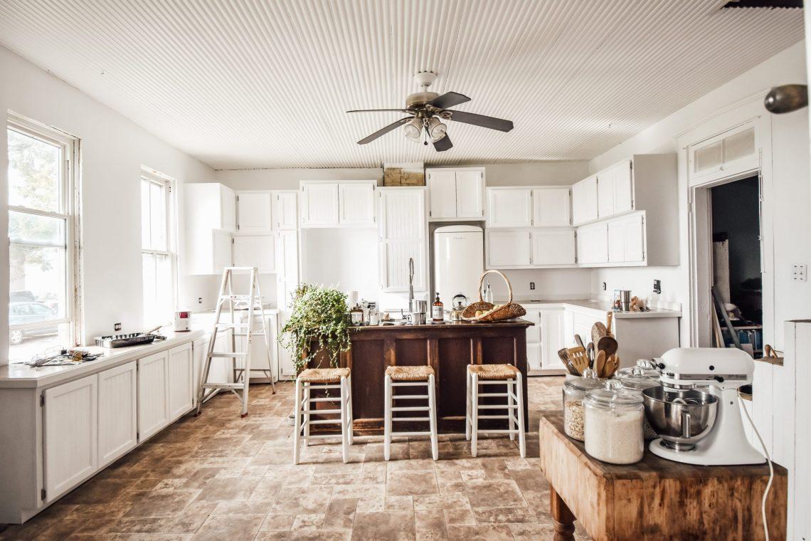 Painting the Farmhouse Kitchen