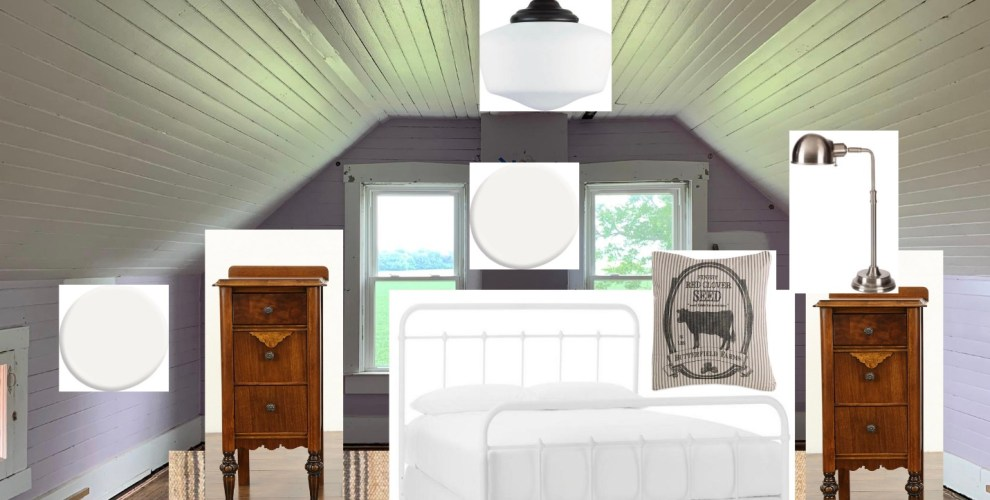 Farmhouse Bedroom Design with The Home Depot