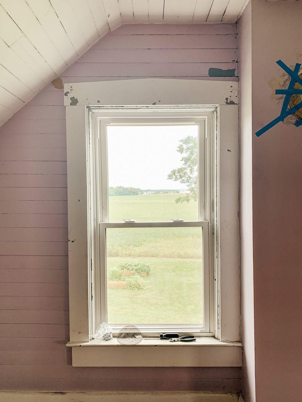 Farmhouse Bedroom Renovation Progress