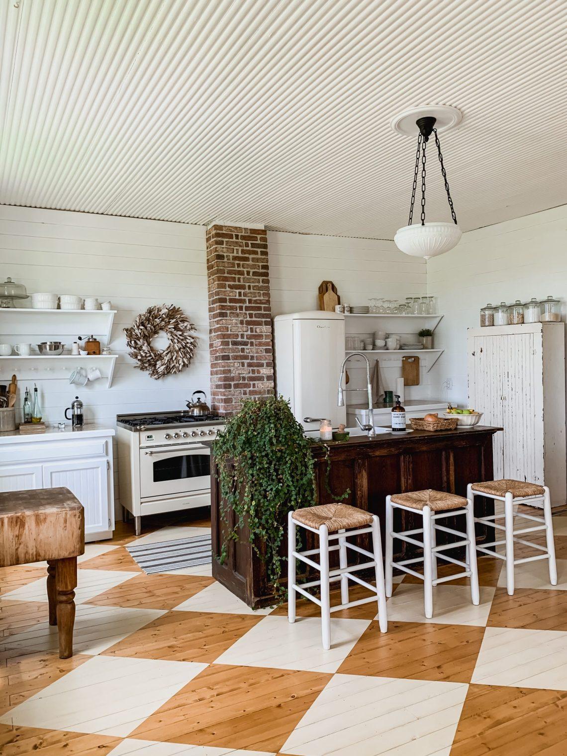 Antique Farmhouse Kitchen Light Fixture