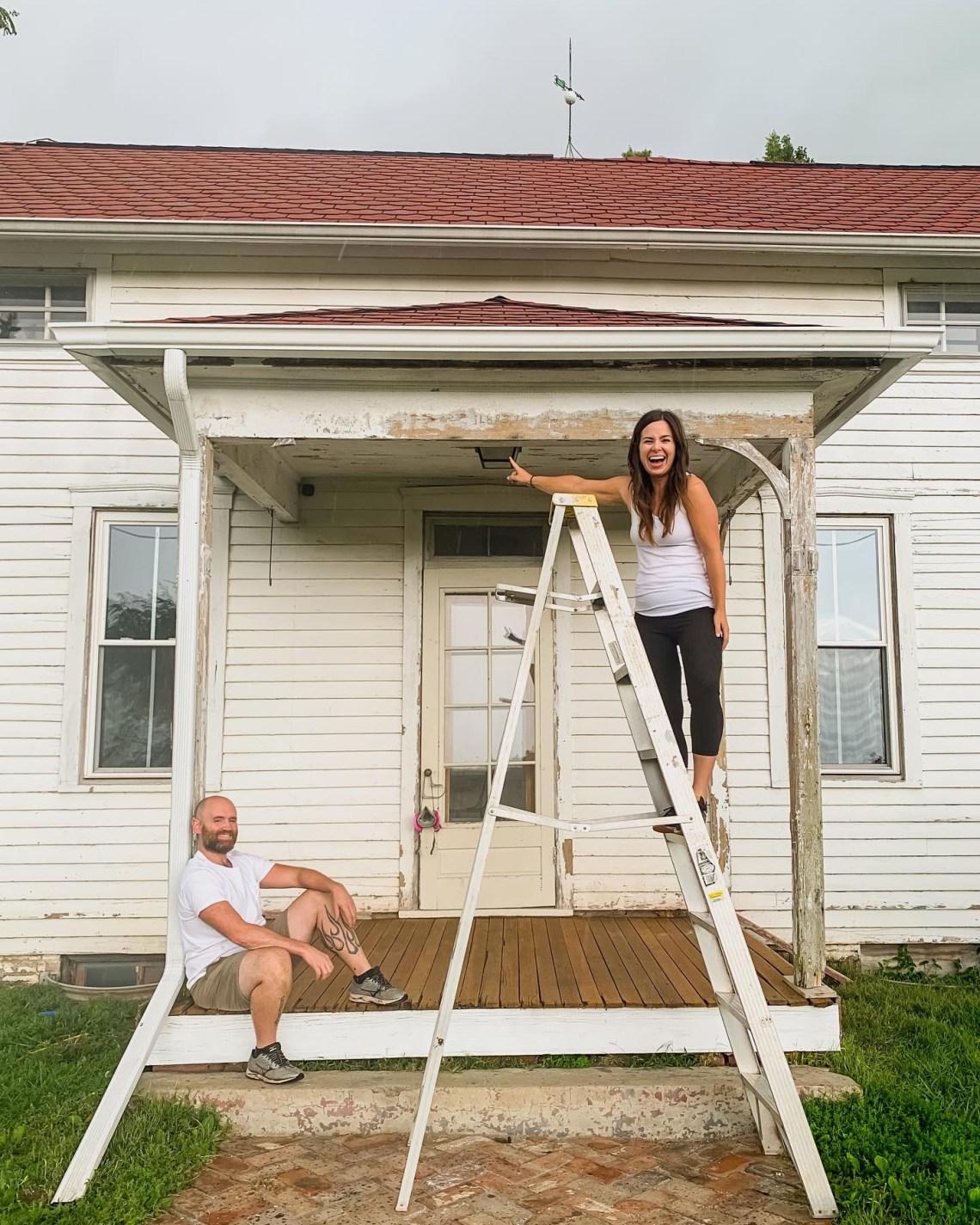 Farmhouse Porch Renovation