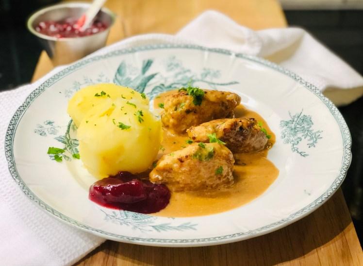 Persiljejärpar recept kycklingfärs gammaldags