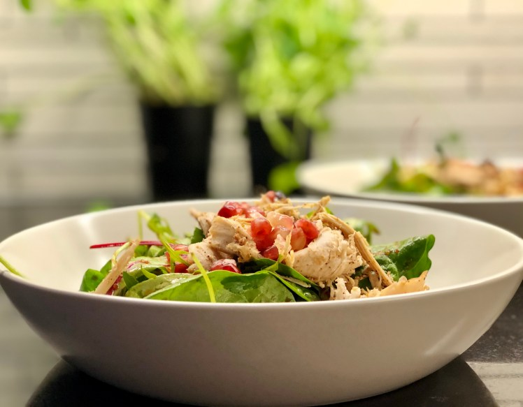 Recept asiatisk kalkon sallad