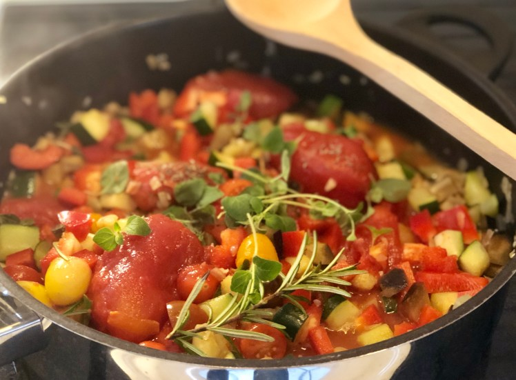 Recept ratatouille original fransk
