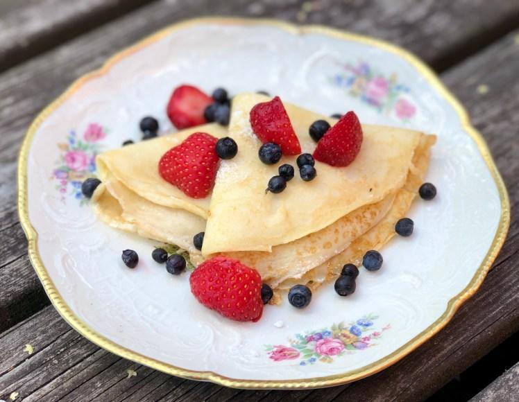 Pannkakor crêpes recept