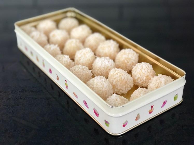Beijinhos brasilianska kokosbollar recept