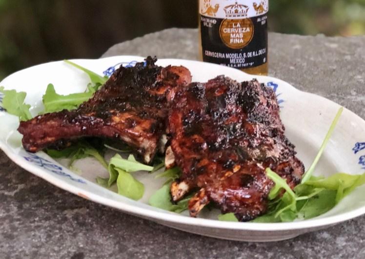 Recept grillade shortribs med ingefärsglaze
