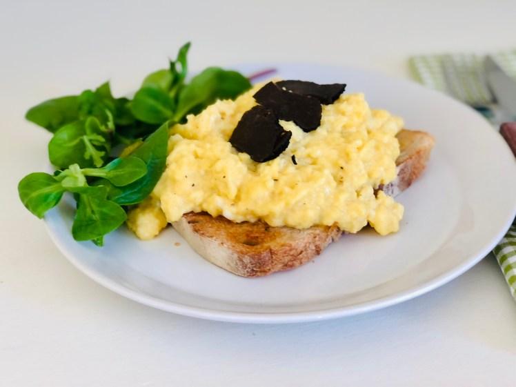 Äggröra med tryffel