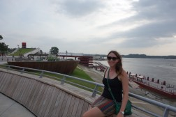 Checking out the Mississippi