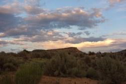 Desert sunsets, New Mexico