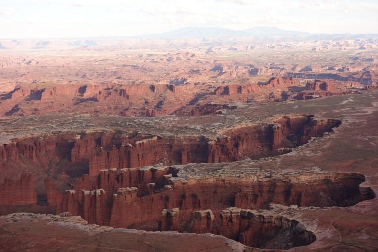 Yep, it's a land of canyons