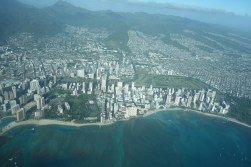 Honolulu from the air