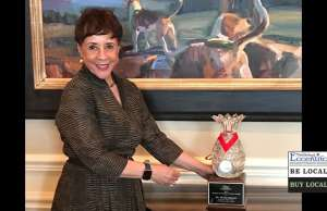 Sheila Johnson Receives the Judy Patterson Award