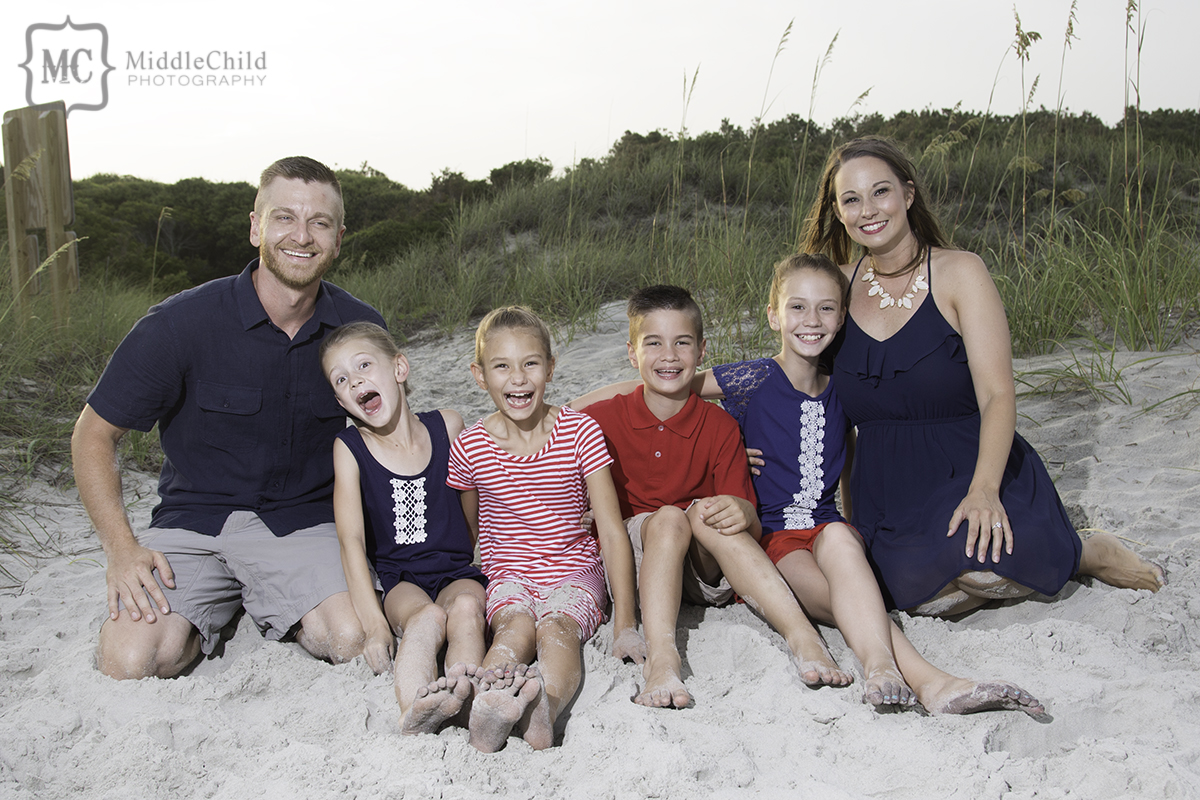 myrtle beach family portraits