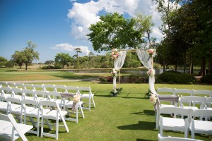 outdoor wedding myrtle beach