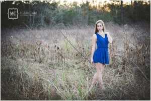 myrtle beach senior portrait photo