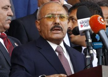 Ali Abdullah Saleh became an ally of the Houthis after Yemen's civil war began in 2015 EPA