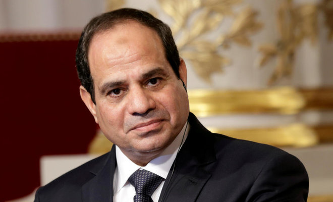 The Egyptian President Abdel-Fatah El-Sisi/REUTERS