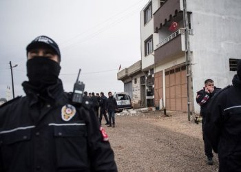 Turkish police have detained 31 suspected Daesh members in Istanbul who were preparing to launch an attack. / AFP