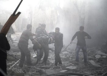 More than 300 civilians have died in Eastern Ghouta since Sunday. /AFP