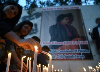 Asma Jahangir was widely admired in the international humanitarian community and was seen as a champion of the downtrodden in Pakistan, which has a troubled rights record, especially for minorities. AFP / ASIF HASSAN
